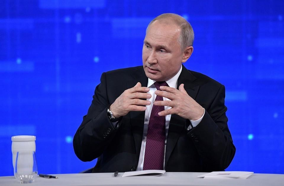 """""""Граждане имеют право на мирные протесты"""": Путин прокомментировал митинги в российских городах"""