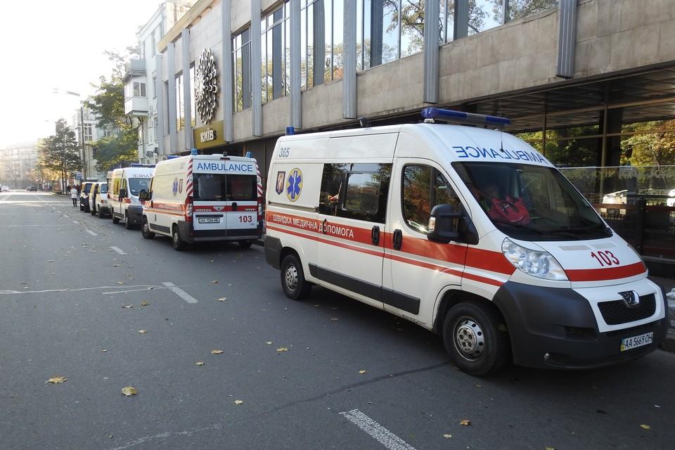 Всех пострадавших госпитализировали. Фото: Игорь Яшкин ТАСС