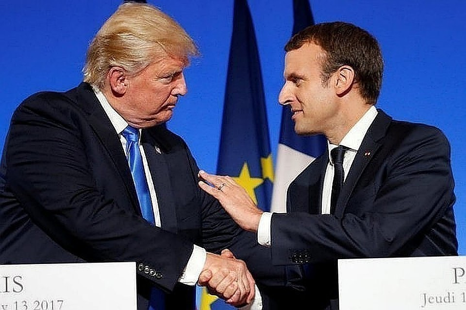 Трамп и Макрон обсудят ситуацию на Украине во время сессии G7
