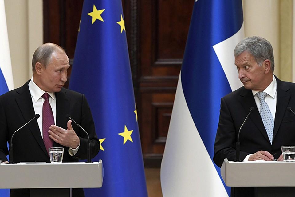 Саули Ниинисте решил ничего не придумывать и пригласил российского коллегу на официальный разговор во дворец, оставив весь местный колорит на вечер