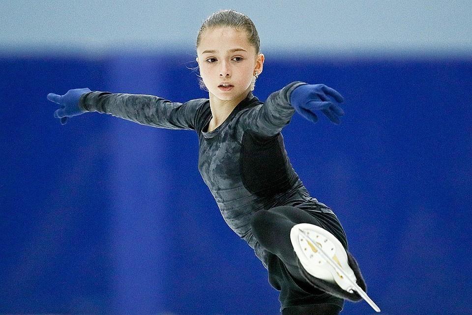 Камила Валиева выиграла свой первый в карьере взрослый турнир. Фото: Сергей Бобылев/ТАСС