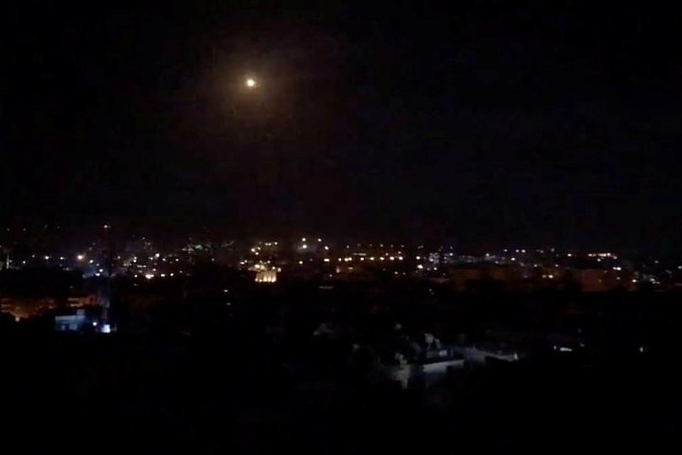 SANA: Сирийские ПВО отражают атаку на Дамаск