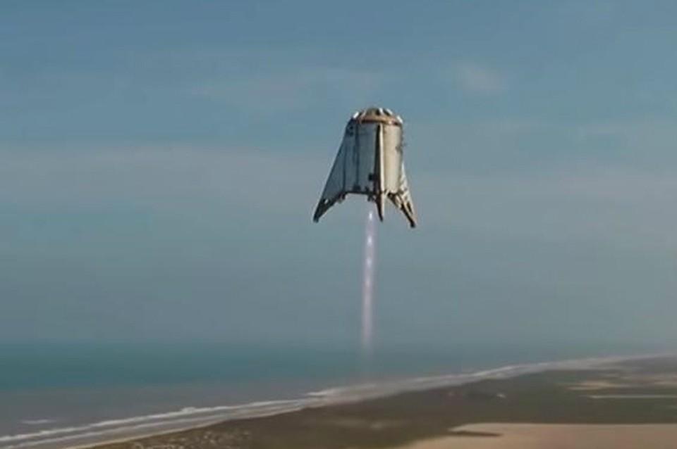 Илон Макс сообщил об успешном испытании аппарата Starhopper