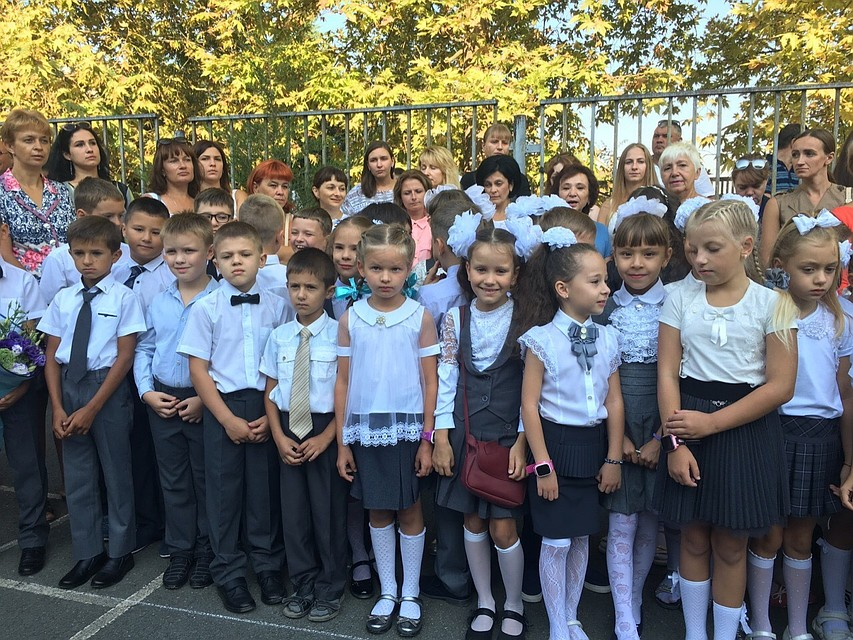 Более пяти тысяч первоклассников пришли в школы Севастополя