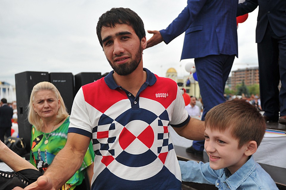 Хусен - брат-близнец чемпиона Олимпиады-2016 в Рио Хасана Халмурзаева