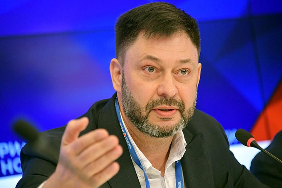 Главный редактор РИА Новости Украина в головной редакции в Москве на пресс-конференции ответил на многие острые вопросы