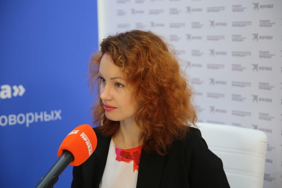 Директор по внешним коммуникациям Группы компаний «Просвещение» Кристина Колесникова.