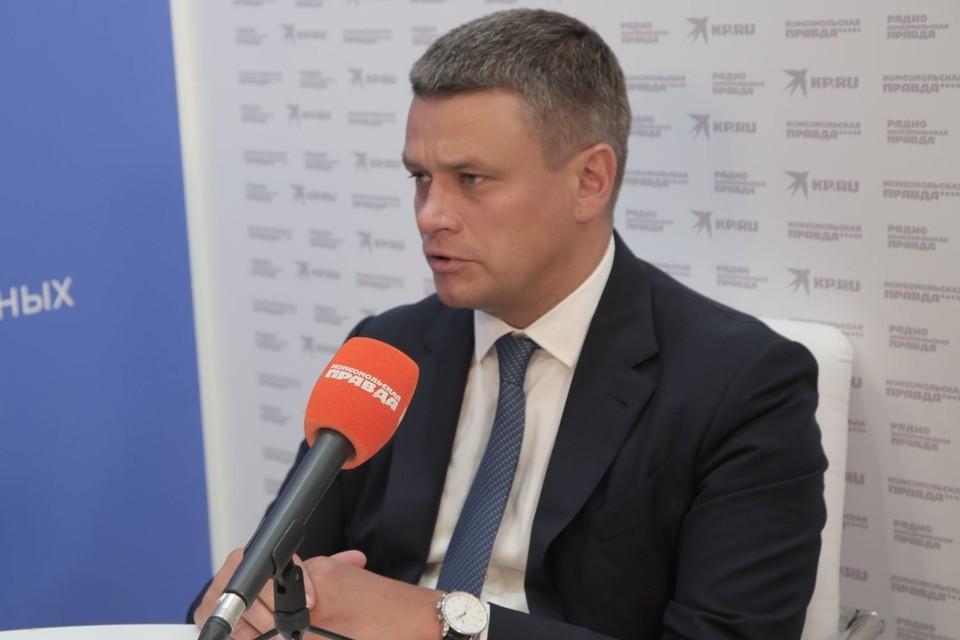 Генеральный директор Агентства Дальнего Востока по привлечению инвестиций и поддержке экспорта Леонид Петухов