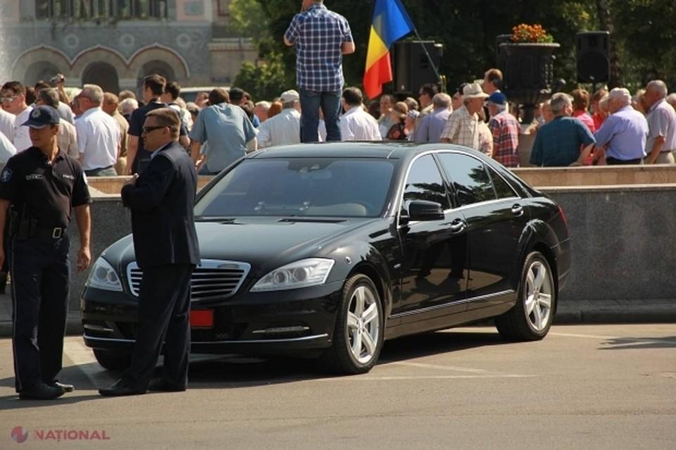 Молдавские чиновники останутся без служебных автомобилей