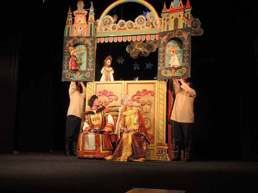 Постановка Владимирского кукольного театра