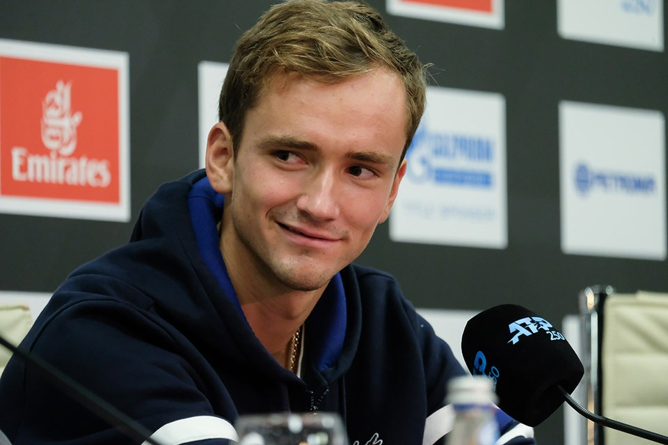 Даниил Медведев - самый популярный на сегодня теннисист России.