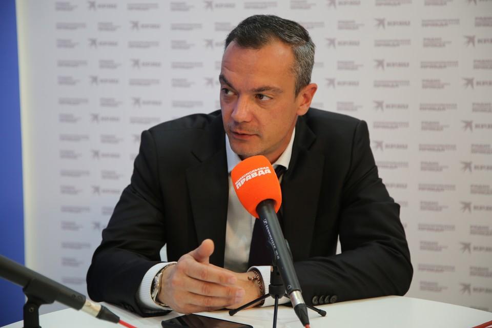 Илья Разбаш, советник руководителя Федерального агентства водных ресурсов.