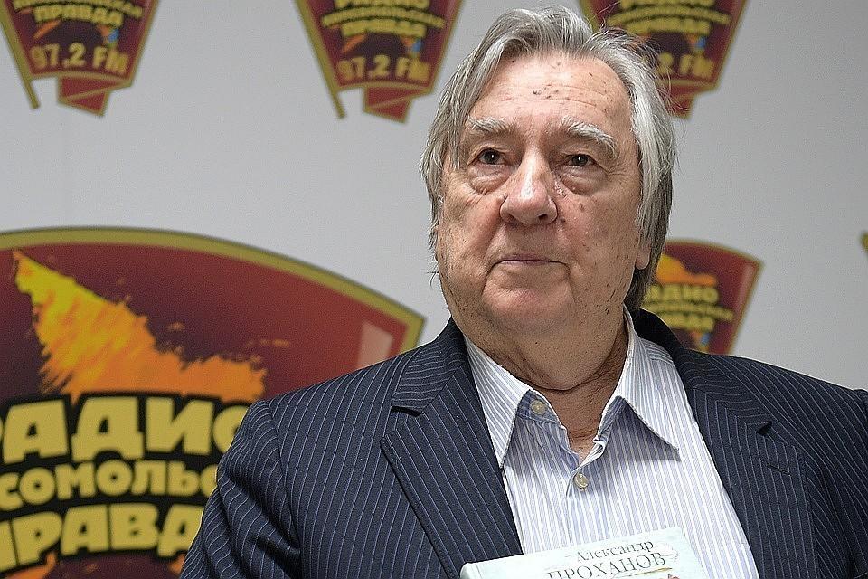 Писатель Александр Проханов на Радио «Комсомольская правда»