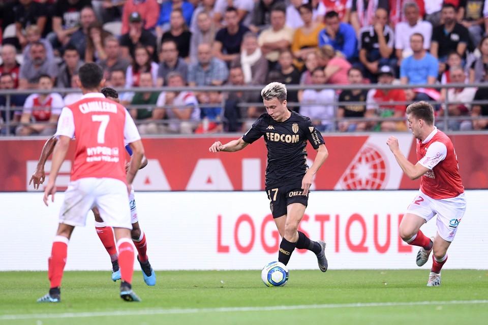 """Головин сыграл 90 минут на поле за """"Монако"""" в матче 6 тура чемпионата Франции."""