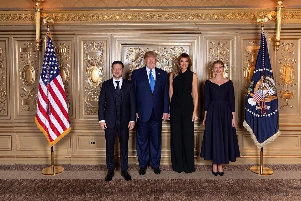 Фото президент Украины опубликовал в соцсетях