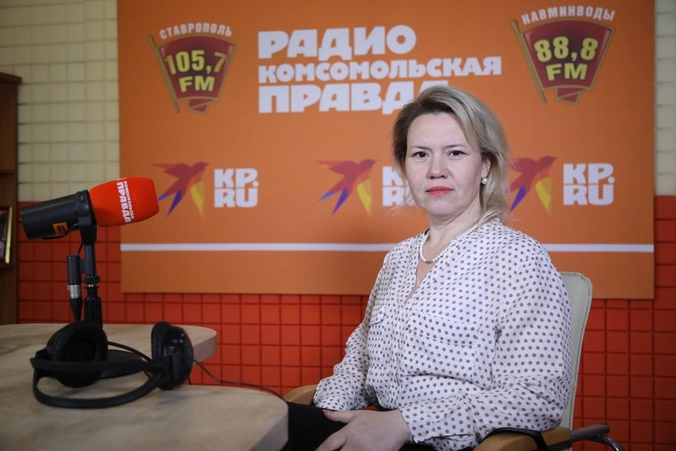 Заведующая кабинетом аллергологии и иммунологии Ставропольской краевой клинической больницы Ольга Уханова