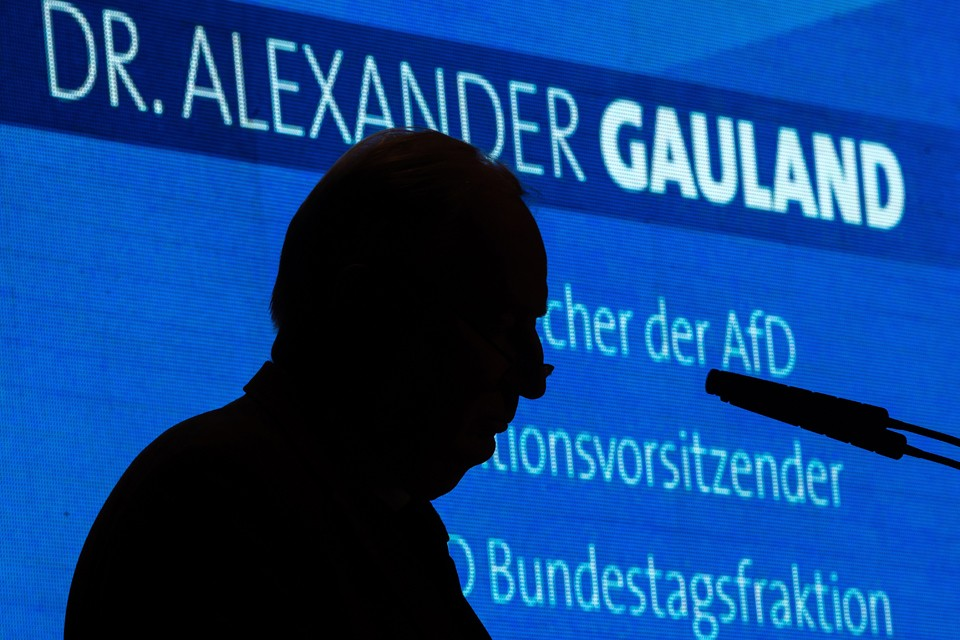Александр Гауланд призвал Берлин как можно скорее наладить отношения с Россией