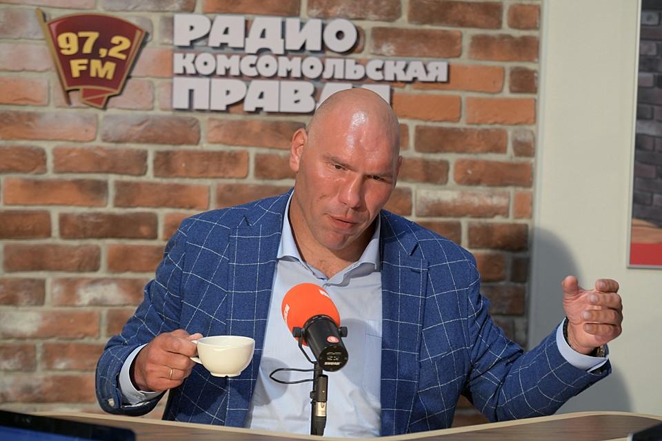 Николай Валуев связался с главным тренером железнодорожников Юрием Семиным