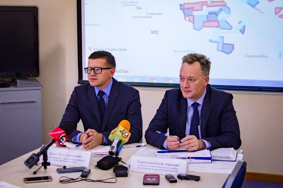 Петр Бажин (слева) и Роман Корниенко рассказали обо всех нюансах запуска отопительного сезона.