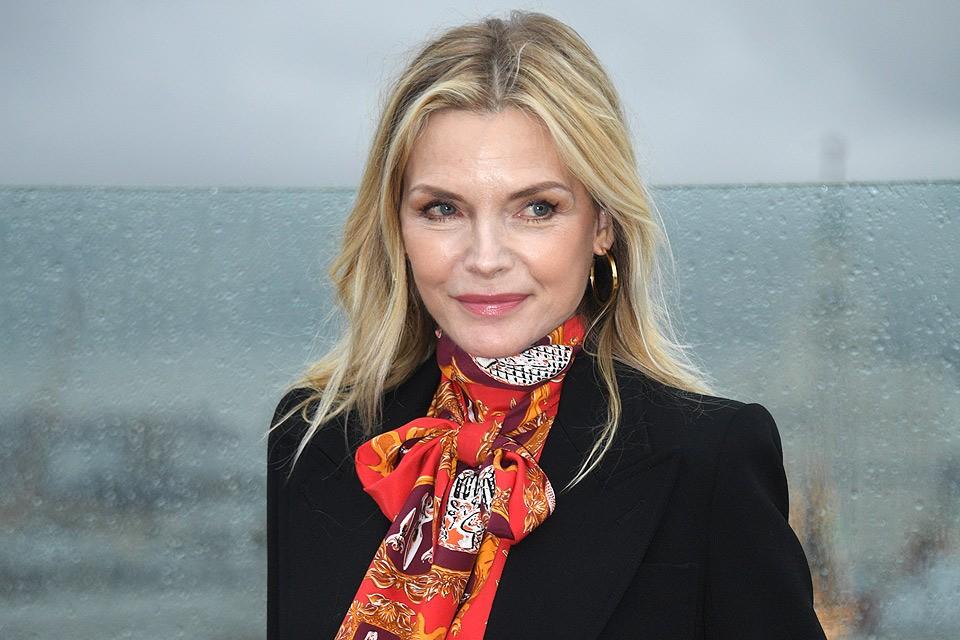 Актриса Мишель Пфайффер посетила Москву.