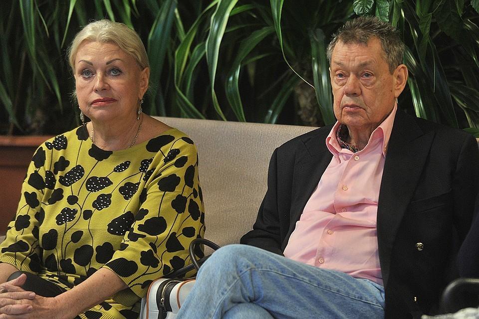 Николай Караченцов и Людмила Поргина в 2016 году.