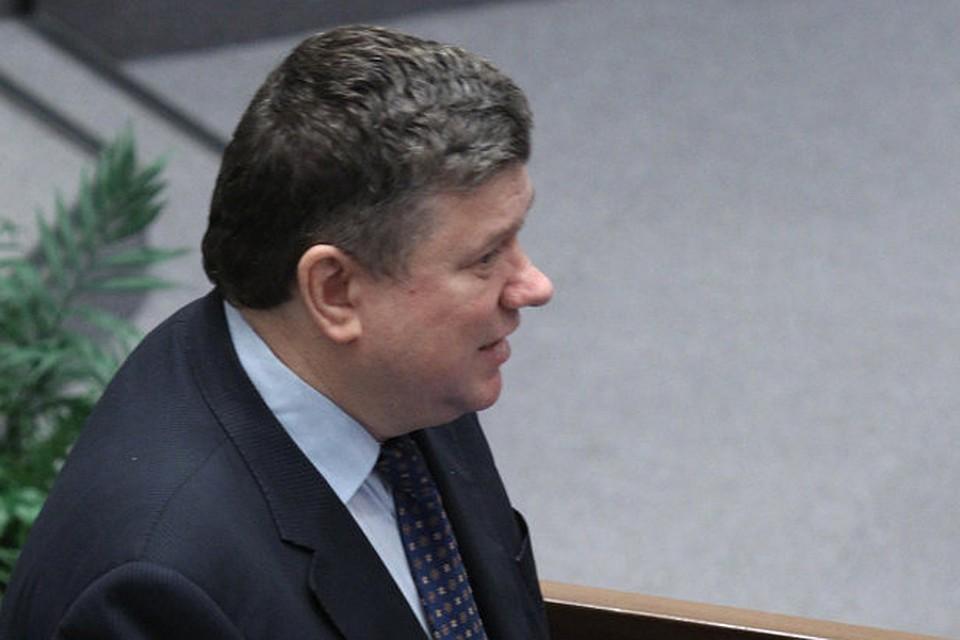 Умен вице-спикер СФ Евгений Бушмин