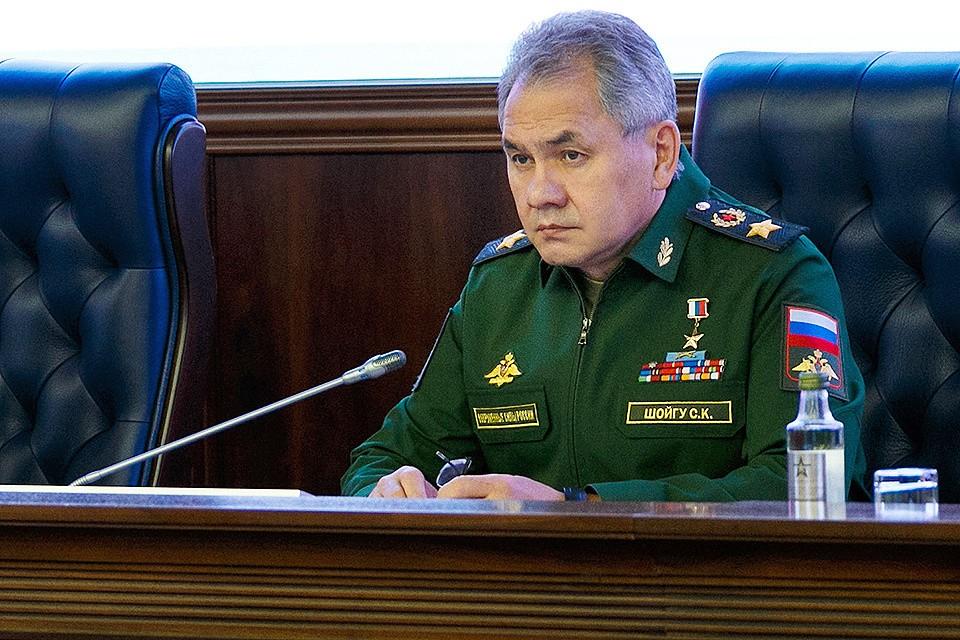 Министр обороны России провел селекторное совещание с руководством Вооруженных Сил. Фото: Вадим Савицкий/mil.ru