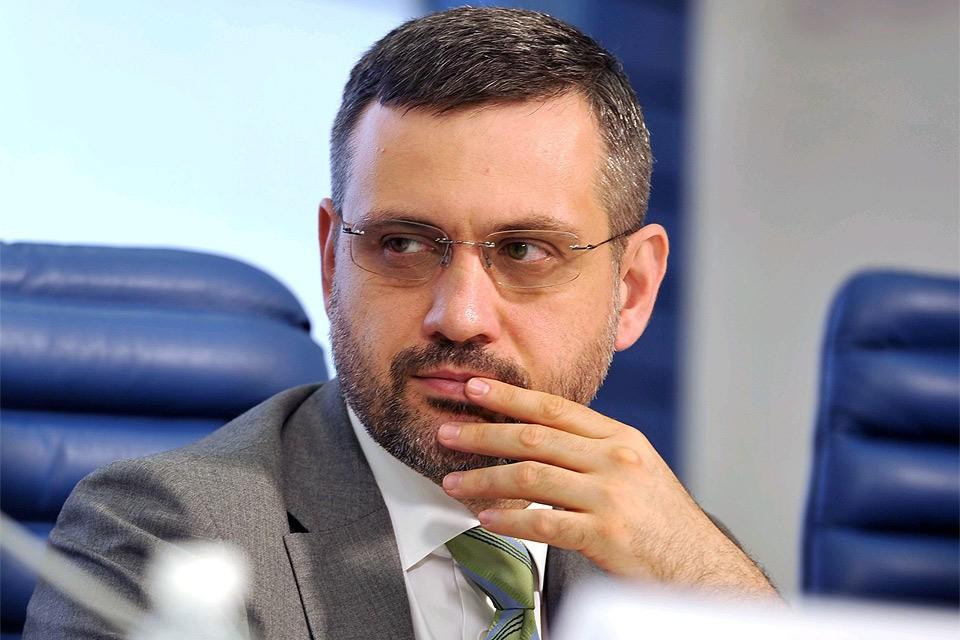 Официальный спикер РПЦ Владимир Легойда. Фото: Денис Рябцев
