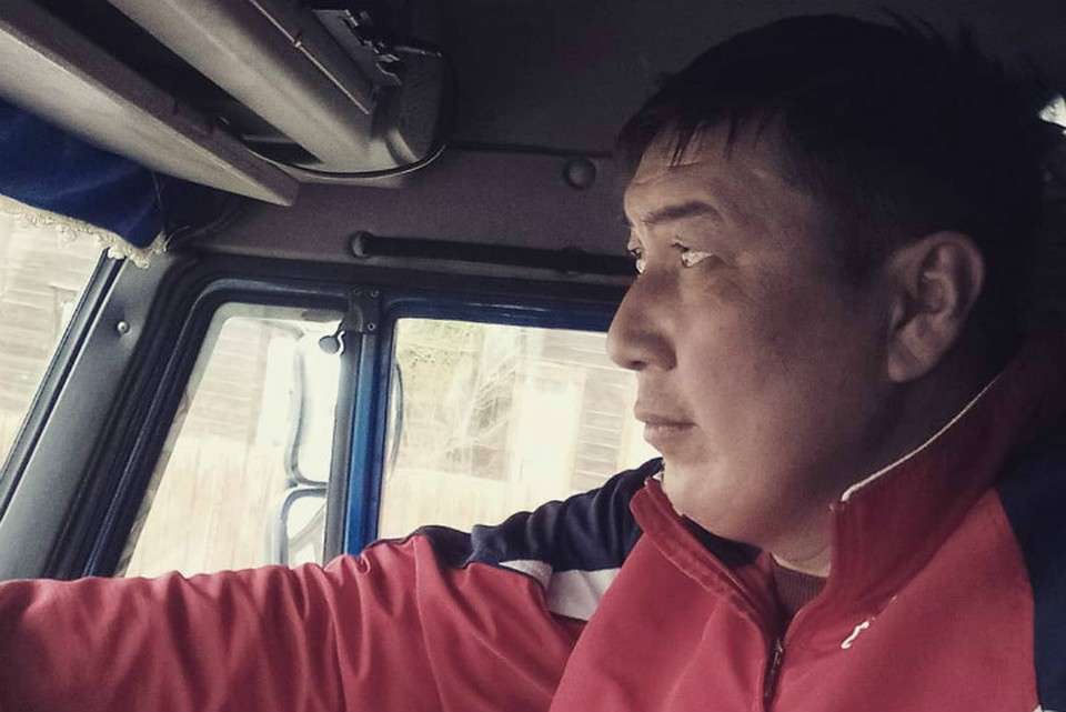 Поющий дальнобойщик Жаргал Раднаев. Фото: соцсети