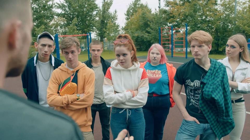 """осмотреть два премьерных эпизода сериала """"Трудные подростки"""" можно будет 24 октября."""