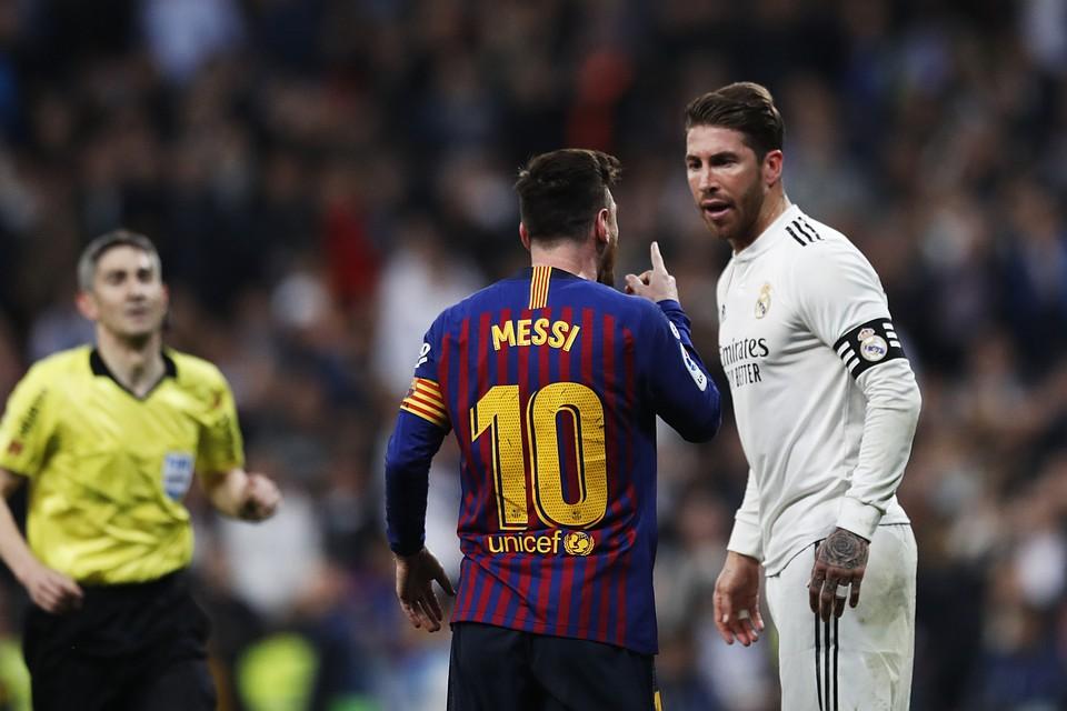 Барселона и реал мадрид 7 октября
