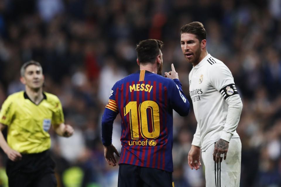 """""""Реал"""" и """"Барселона"""" не сыграют в следующую субботу."""