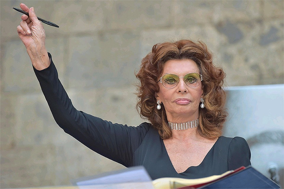 Софи Лорен 85 лет