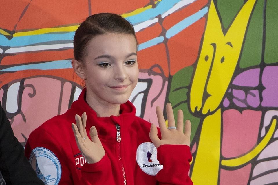 Анна Щербакова на Skate America стала первой.