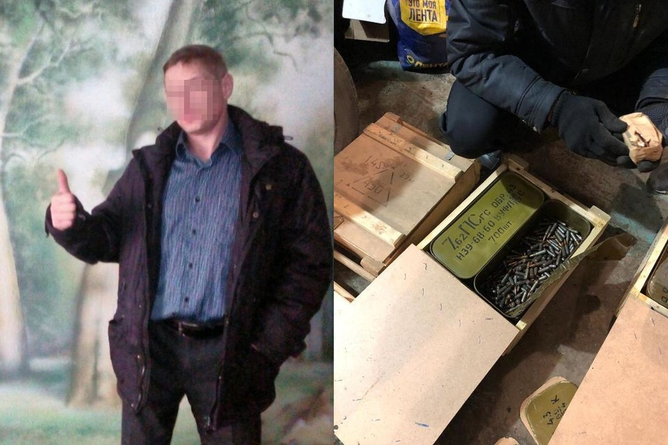 Главным подозреваемым в хищении боеприпасов стал сотрудник транспортной полиции. Фото: соцсети.