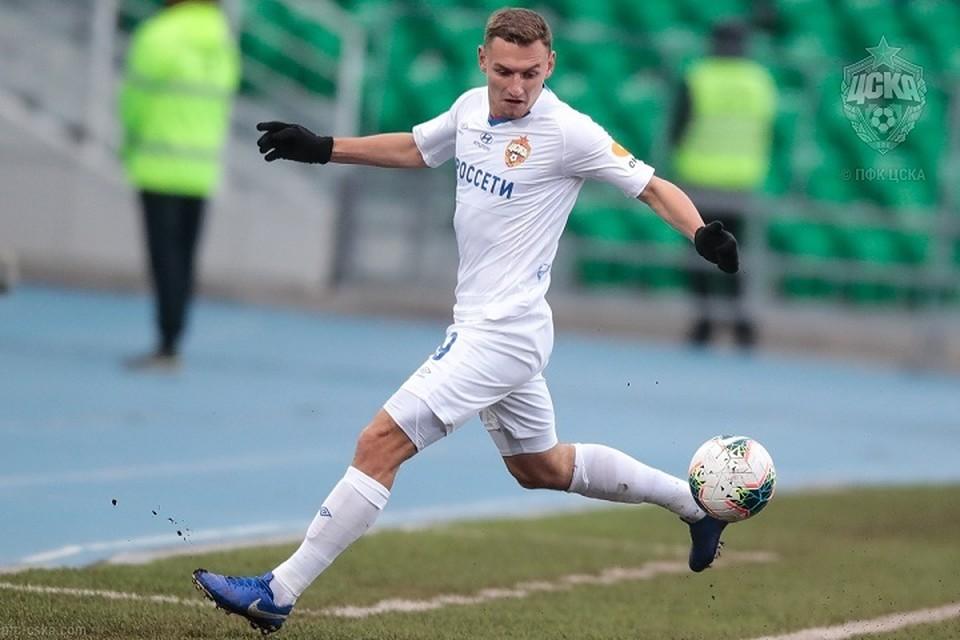 В ЦСКА надеются, что Федор Чалов проявит в этой встрече свой бомбардирский талант