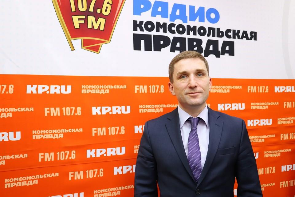 Министр по физической культуре, спорту и молодежной политике Удмуртской Республики Александр Варшавский