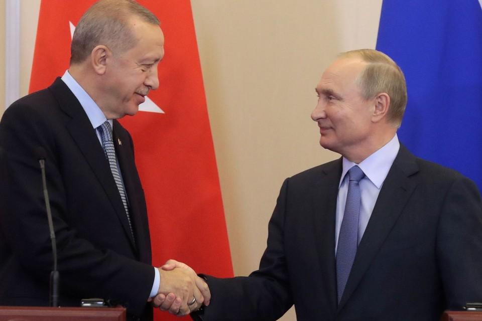 Шестичасовые переговоры Путина и Эрдогана прекратили военные действия на севере Сирии