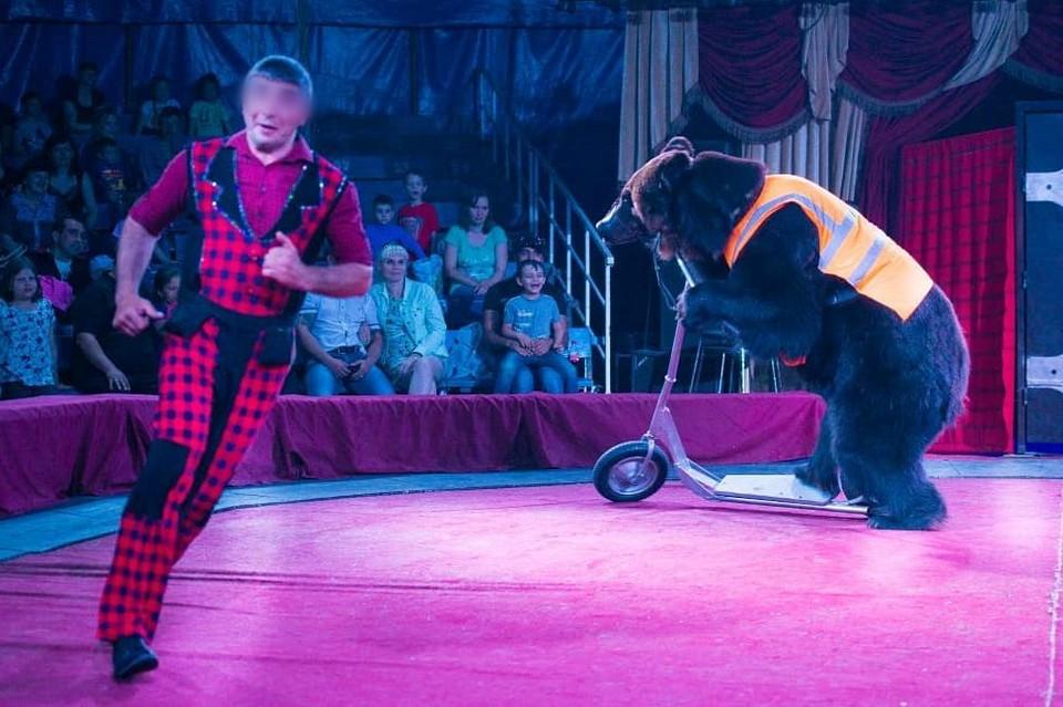 Из цирковой программы опасный номер обещают убрать. Фото: Цирк-шапито «Аншлаг»