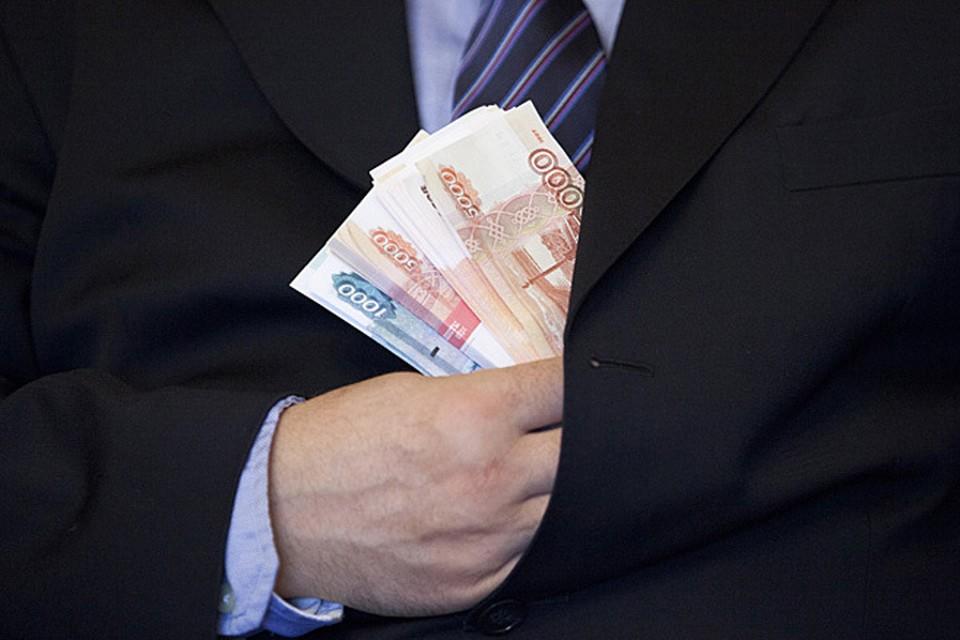 Средние аппетиты раскрытых коррупционеров не очень велики.