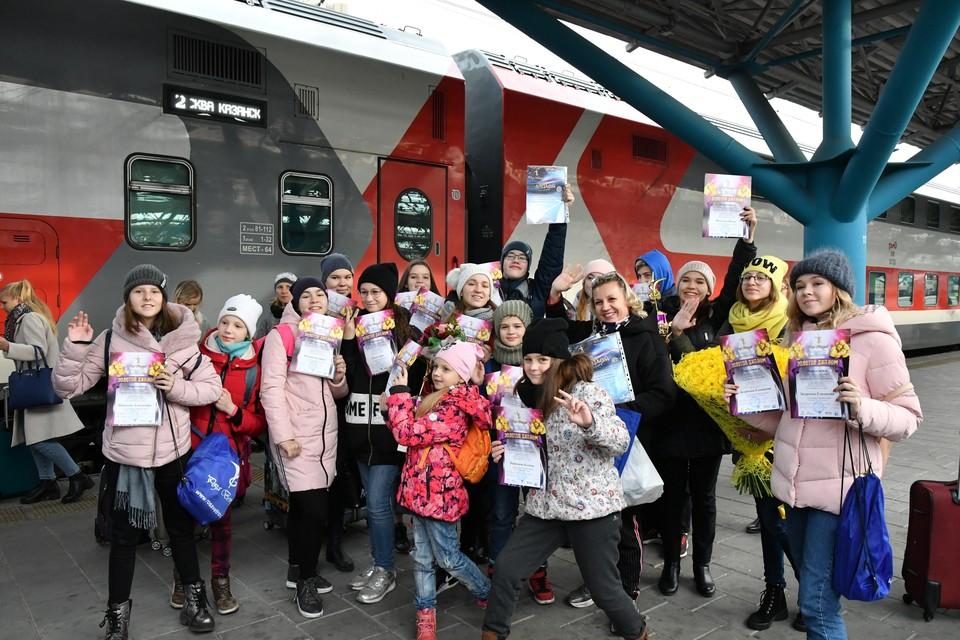 Юные артисты возвращаются в Самару с дипломами первой степени