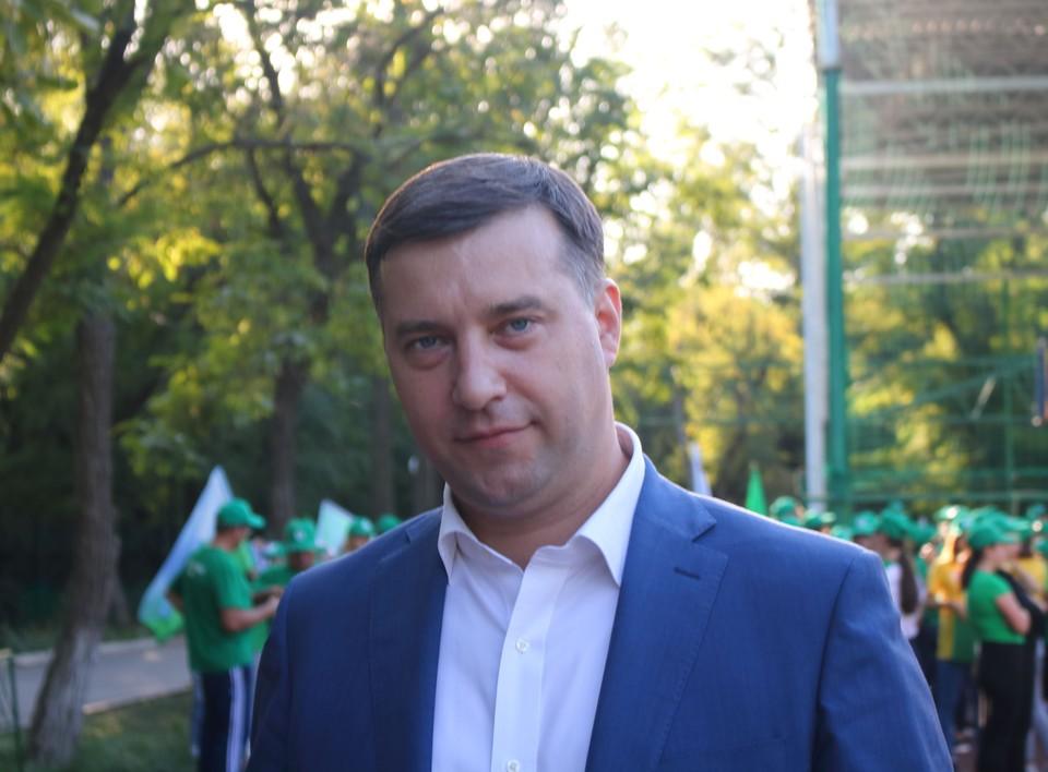 Министр природных ресурсов и экологии Ростовской области Михаил Фишкин. Фото: Министерство природных ресурсов и экологии РО