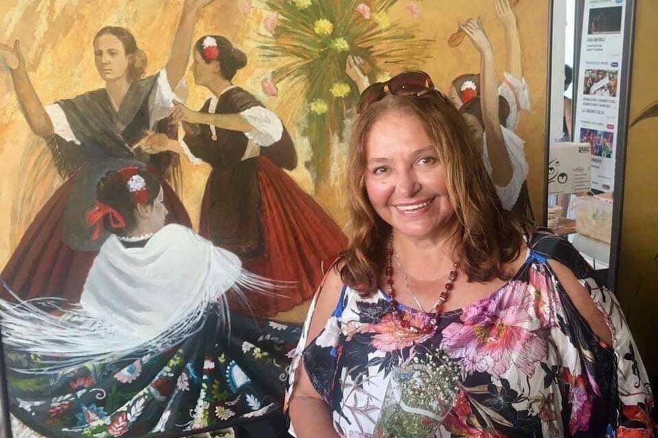 Наталья Бондарчук считает, что с Крыма началась ее творческая жизнь. Фото:Наталья Бондарчук/FB