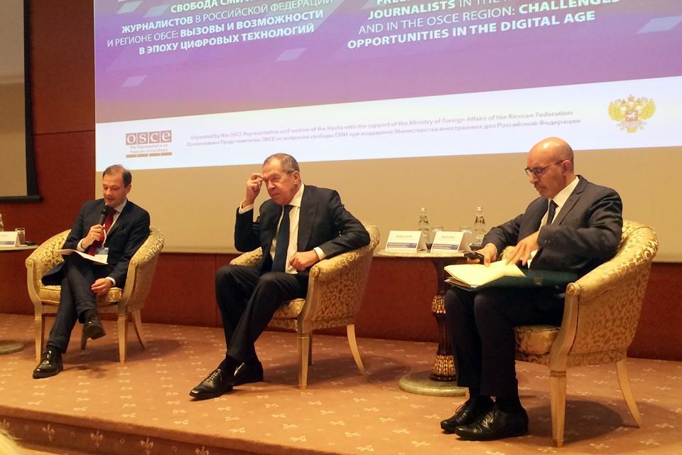 Сергей Лавров рассказал о серьёзных проблемах со свободой слова у западных партнёров