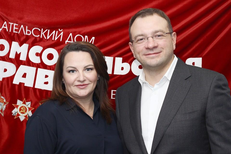 Иллона Соболева и Вячеслав Трапезников