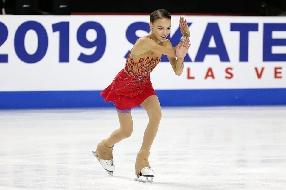 Щербакова стала первой финалисткой Гран-при 2019