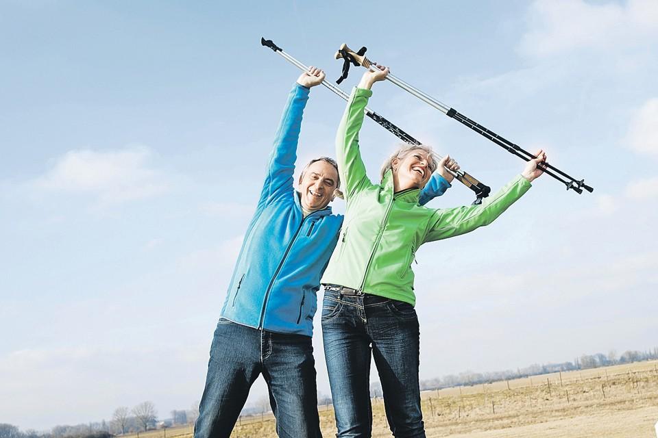 Здоровый образ жизни в пожилом возрасте не менее важен, чем в молодом.