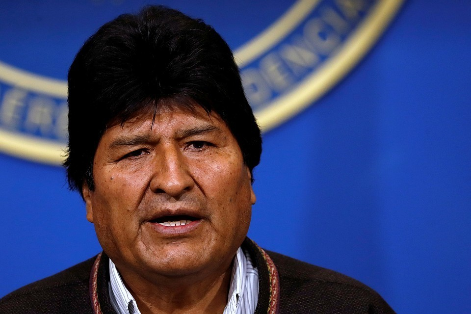 Президент Боливии Эво Моралес объявил о своей отставке
