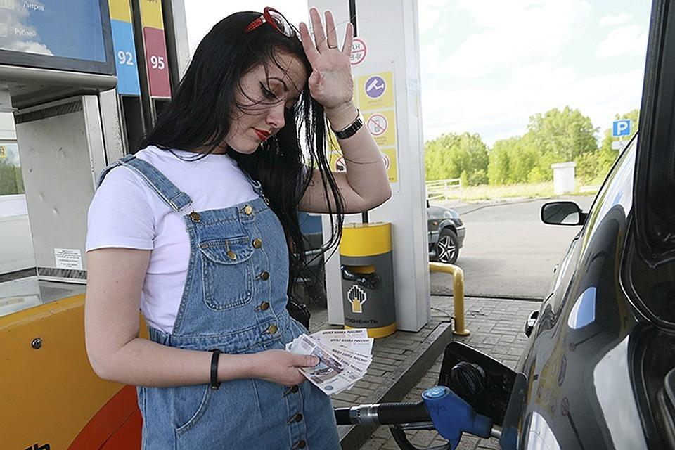 Минпромторг выяснил, что на 20% АЗС России недоливают бензин.