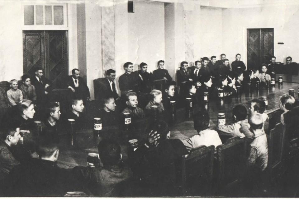 Фотография из фондов Музея истории пермского моторостроения.